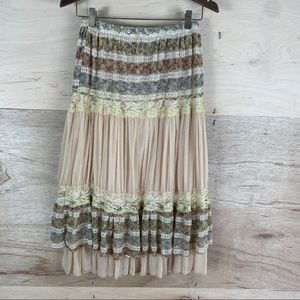 Moa USA Boho Lace Skirt